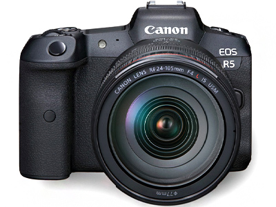 EOS R5 Camera with 24-105mm f4L IS RF Lens