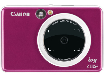 IVY Cliq+ 2 in 1 Instant Camera Ruby Red