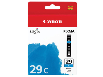 Ink Cartridge PGI-29 Cyan Ink Tank