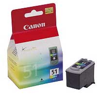 Ink Cartridge CL51 Colour for select Printers