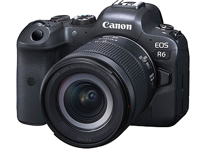 EOS R6 Camera with 24-105mm IS STM RF lens
