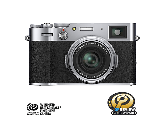 FUJIFILM X100V Digital Camera Silver