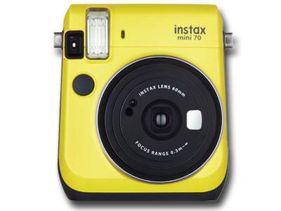 Instax Mini 70 Instant Canary Yellow