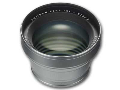 TCL-X100 II Tele Conversion Lens Silver