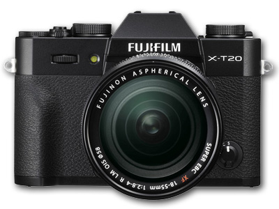 X-T20 with 18-55mm Lens Black
