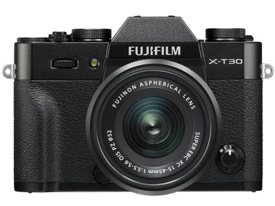 X-T30 with 15-45mm Kit Lens Black
