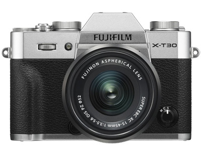 X-T30 with 15-45mm Kit Lens Silver