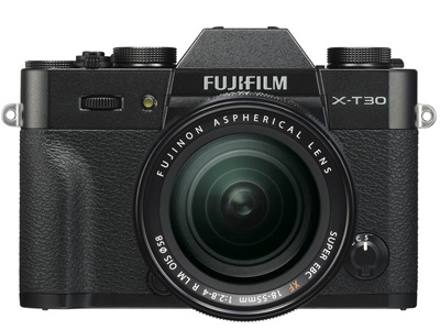 X-T30 with 18-55mm Kit Lens Black
