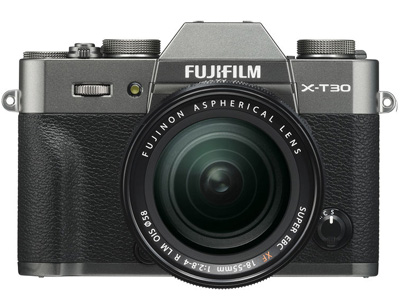 X-T30 with 18-55mm Kit Lens Charcoal Silver