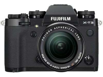 X-T3  Black with XF 18-55mm f2.8-4R LM Lens
