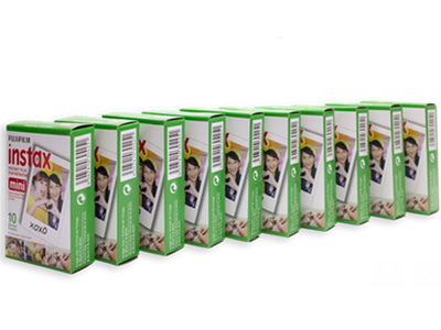 Instax Mini Film Multi Pack (10 Pack)