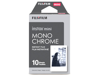 Instax Mini Film Monochrome 1 Pack