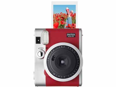 Instax Neo Classic 90 Instant Camera Red