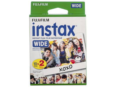 Instax Wide Film  - 2 Pack (20 sheets)