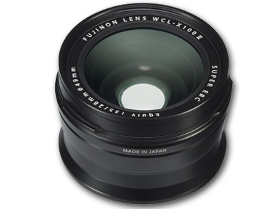 WCL-X100 II Wide Conversion Lens Black