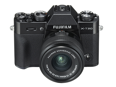 X-T20 with XC15-45mm f3.5-5.6 OIS PZ Lens Black