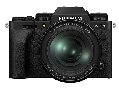 X-T4 Body with XF16-80mm f4 Lens  BLACK Open box