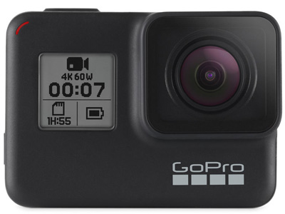 GoPro HERO7 Black Action Camera Open Box
