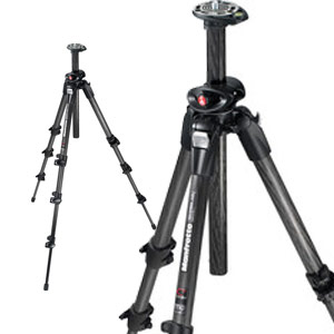 190CXPRO4 Carbon Tripod Black Legs Only
