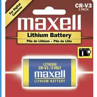 Maxell CRV3 Lithium Battery