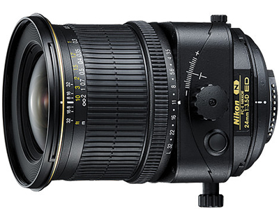 24mm f3.5 D ED PC-E (Tilt/Shift) Lens