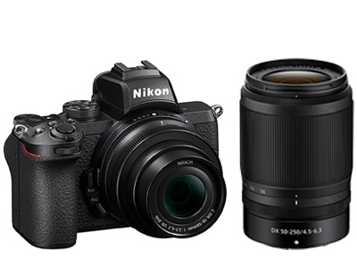 Nikon Z50 Camera with Z 16-50mm 50-250mm lenses