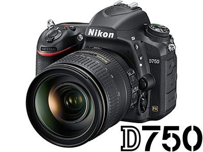 D750 Camera with 24-120mm VR Lens USED