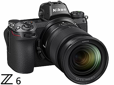 Z6 Mirrorless with NIKKOR Z 24-70mm f/4 S