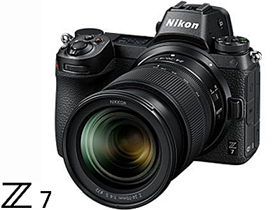 Z7 Camera Body with NIKKOR Z 24-70mm f/4 S