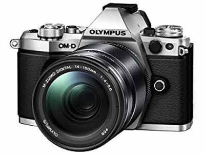OM-D E-M5 Mark II with 14-150 Lens Silver