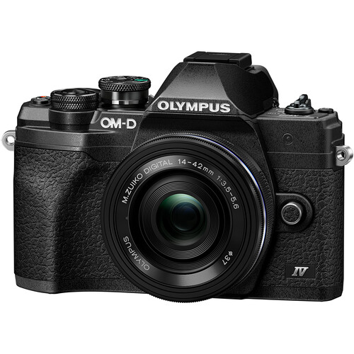 OM-D E-M10 Mark IV with 14-42mm EZ Lens Black