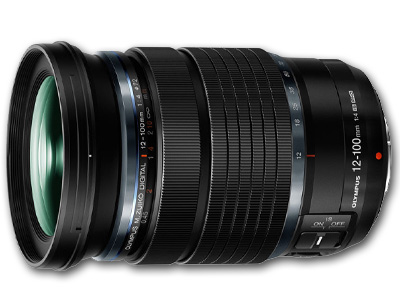 12-100mm f4 IS Pro M. Zuiko Lens Black