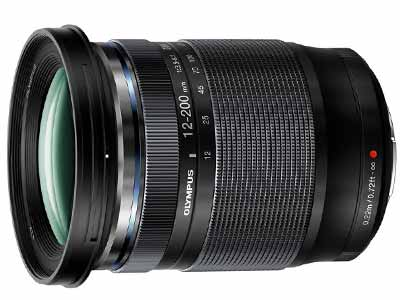 12-200mm f3.5-6.3 ED M. Zuiko Lens Black