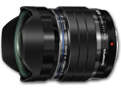 8mm f1.8 M.Zuiko Digital Lens Black