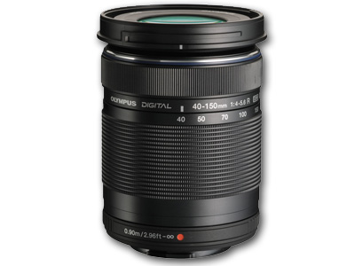 40-150mm f4-5.6 R M.Zuiko ED Lens Black