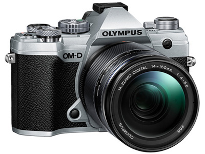 OM-D E-M5 Mark III with 14-150mm Lens Silver