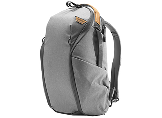 Everyday Backpack (15L Zip Ash)