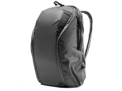 Everyday Backpack Zip (20L, Black)