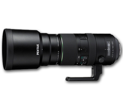 150-450mm f4.5-5.6 DC AW HD D FA Lens