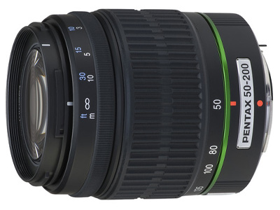 50-200mm f4-5.6 smc DA ED WR Lens