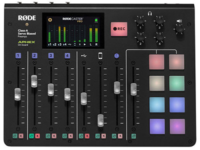 RODECaster Pro Integrated Podcast Production