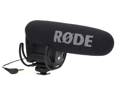 VideoMicro Pro Camera-Mount Shotgun Mic