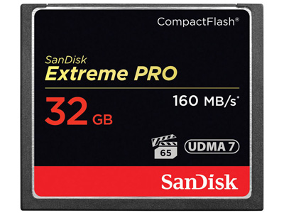 32GB Extreme PRO Compact Flash Memory Card
