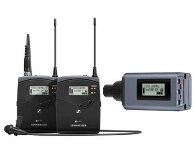 EW100 ENG G4 A Wireless Microphone Combo