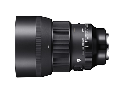 85mm f1.4 DG Art Lens Sony-E OBD