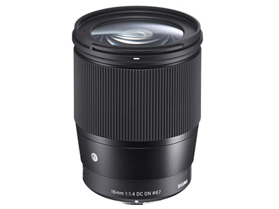 16mm f1.4 DC DN Contemporary Lens Sony E