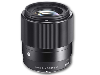 30mm f1.4 DC DN Contemporary Lens Sony E mount