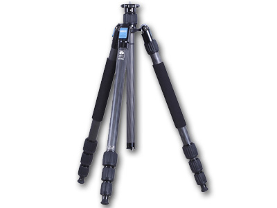 W2204 Waterproof Carbon Fibre Tripod Black