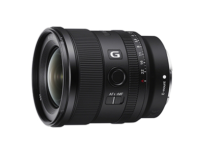 20mm FE f1.8 G Full Frame lens