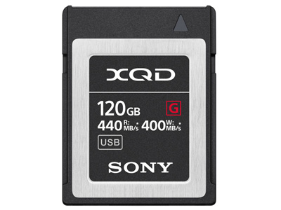 120GB XQD G Series Memory Card